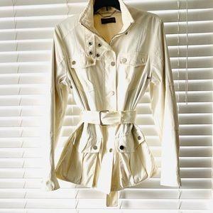 Zara Woman Beige Anorak Jacket Size Large